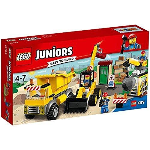 LEGO Juniors 10734 - Große Baustelle, Spielzeug für 4 Jährige