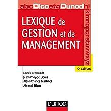 Lexique de gestion et de management - 9e éd. (Hors collection)