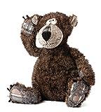 sigikid Beasts Kuscheltier für Erwachsene und Kinder, Bär, Bonsai Bear, Braun, 37738128
