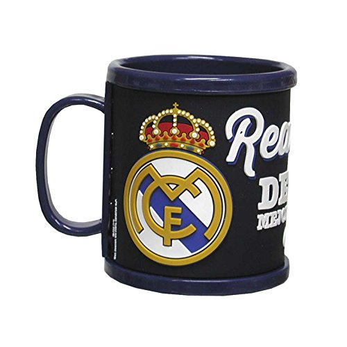Real Madrid – Taza de caucho con diseño 3D (CYP Imports MG-8-RM)