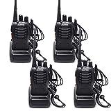 Best talkie walkie - QITAO® BaoFeng talkie-walkie 400-470 MHz radio bidirectionnelle rechargeable Review