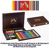 Caran d-Ache 3002.470 Graphite pencil Caja de madera juego de pluma y lápiz de regalo - Set de lápices (Graphite pencil, Multicolor, Madera, Multicolor, Suiza, Caja de madera)