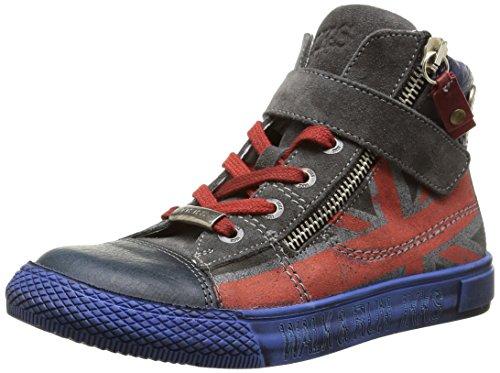 Ikks - Anthony, Sneakers per bambini e ragazzi, Blu (Bleu (Ctv Marine/Gris Dpf/Tavolo)), 30