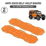 Mobiliarbus Selbsthilfe Board Anti-Skid Für RC4WD D90 Axial Scx10 90046 CC01 VS4 1/10 RC Crawler Auto TRX4 Defender Bronco, 2 STÜCKE