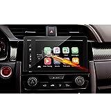 Gehärtetes Glas Schutzfolie 7 Zoll für das Navigationssystem von (2016)(2017) Honda Civic Type R IV Unsichtbare Displayschutzfolie Schirmfolie Glasfolie Klarsichtfolie-RUIYA