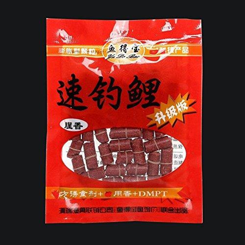 HIANG256Köder Pellets, Starke Lebensmittel Geruch Angeln Lebensmittel Kunstköder für Karpfen Gras Carp CRUCIAN–Tasche von Köder