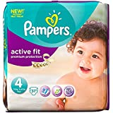 Pampers active Fit Taille 4 Maxi 7-18kg (37) - Paquet de 6