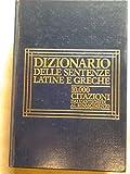 Image de Dizionario delle sentenze latine e greche