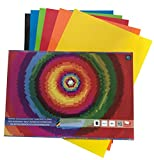 DAS Produkt Buntpapier Block selbstklebend B4 Holographie 6 Blatt 210g/qm