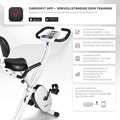 SportPlus Ergo X-Bike mit App-Steuerung - 6
