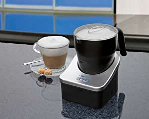 2 in 1 Teekocher mit Warmhaltefunktion, 0,7 Liter Kocher mit 600 Watt, kabelloses Ein - und Ausgiessen, Glas + Schwarz, NEU + OVP