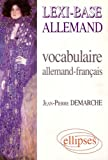 Lexi-base allemand vocabulaire allemand-français