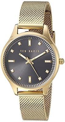 Ted Baker 10031191 - Reloj de Pulsera Mujer, Acero Inoxidable, Color Oro de Ted Baker