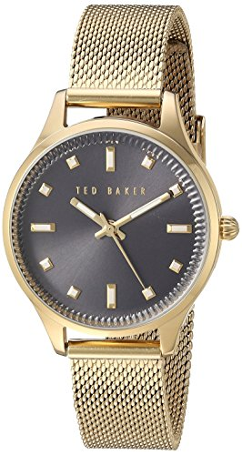 Ted Baker Women's 'Sport' Quartz Stainless Steel Dress Watch, Color:Gold-Toned (Model: 10031191)