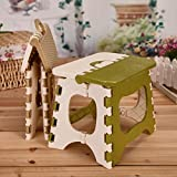 #5: Kurtzy Foldable Step Stool For Kids And Adults Kitchen Garden Bathroom Stepping Stool Holds Up To 100 Kg 30X24X24Cm