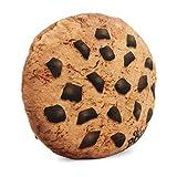 Oh My Pop Pop! Cookies-Pillow Cushion (Large) Oreiller de Voyage, 37 cm, Marron (Brown)