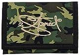 Original 2stoned Geldbörse Wallet mit Stickmotiv Classic Logo in Camouflage