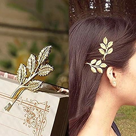Pixnor 10pcs Europe et les États-Unis cheveux bijoux cheveux Clips