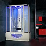 Tronitechnik Duschtempel Badewanne TINOS 135cm x 80cm - 2