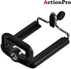 Action Pro Tripod Mount Adapter Walway Universal Cell Phone Clip Holder Camera Bracket