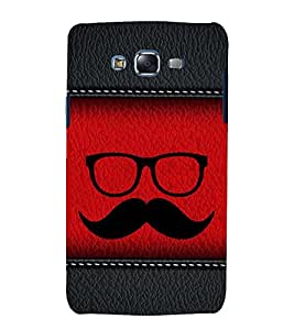 printtech Abstract Leather Pattern Back Case Cover for Samsung Galaxy E5 / Samsung Galaxy E5 E500F