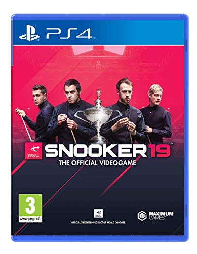 Snooker 19 - The Official Video Game - PlayStation 4 (PS4) Best Price and Cheapest