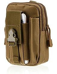 Generic mochila senderismo Casual hombre cintura bolsas caza bolso caso paquete CT