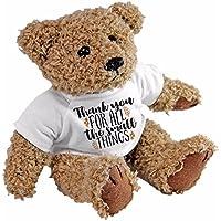 Gracias por todas las pequeñas cosas oso de peluche, regalo amor aniversario