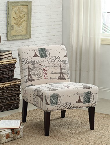 HomeRoots Furniture 267642-OT Accent Chair, Multicolor