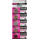 Maxell Lithium Battery CR2016 3V (5 Pieces)