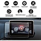 YEEPIN [Mazda MZD Connect CX-3 CX-4 MX-5] GPS Schutzfolie Schutz Navigation Displayschutzfolie [Gehärtetes Glas] -9H Kratzfest Härte,7 Zoll