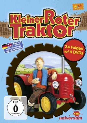 Kleiner roter Traktor 01 - 04 [4 DVDs] (Traktor-boxen)