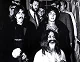 The Poster Corp George Harrison Paul McCartney and Maharishi Mahesh Yogi Photo Print (76.20 x 60.96 cm)