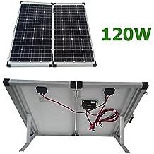 Kit panel solar portátil 120W 12V
