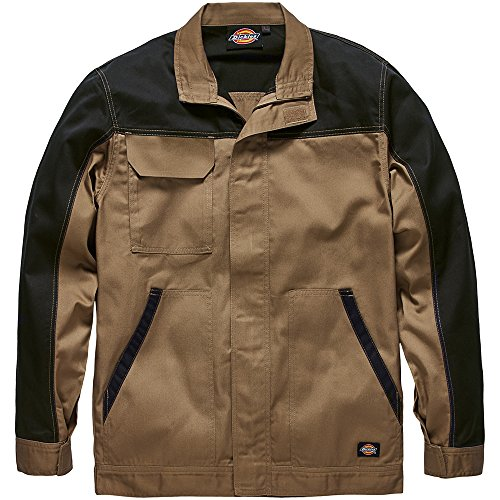 dickies-ed24-7jk-veste-de-travail-homme-beige-khaki-noir-xxxx-large-taille-fabricant-xxxxl