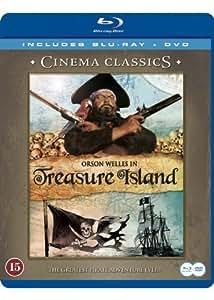 L'ile au tresor (Treasure Island) (Blu-ray & DVD) (1972) (Region 2) (Origine Scadinavian) (Sans sous-titres français) (Sans Langue Francaise)