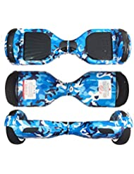 Rynoboard R6 Blue militar con Bluetooth altavoces y luces