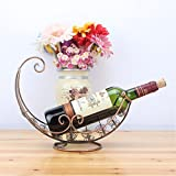 xzlxty Wine Rack Home Decoration Weinschrank Dekoration Kreative Home Bügeleisen Edelstahl