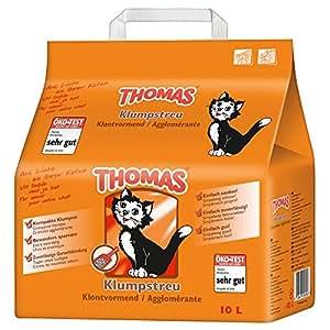 Thomas Katzenstreu Klumpstreu, 1 Packung (1 x 10 l)