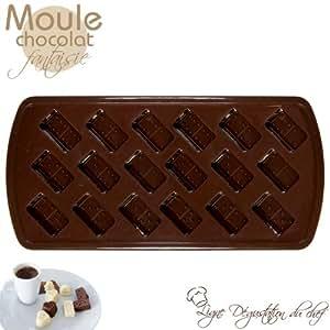 Moules Chocolat Fantaisie - Ligne Dégustation du Chef
