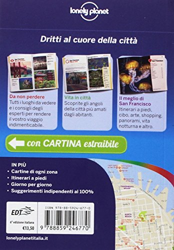 – San Francisco. Con carta estraibile PDF gratis italiano