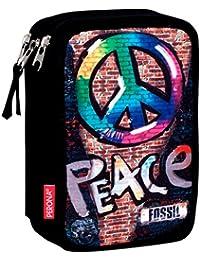 Estuche Fossil Peace Triple 44 Piezas