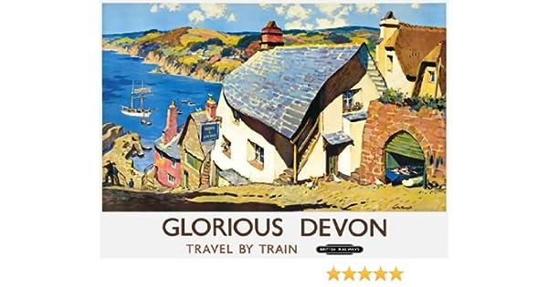 TU59 Vintage Norfolk Blakeney British Railways Travel Poster Re-Print A4