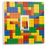 Legoo Block Brick Bunte Aufkleber (Generic Single)