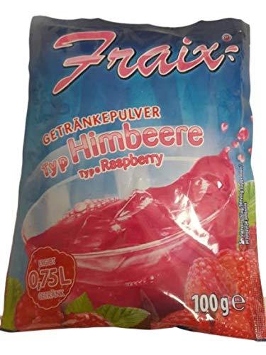 Fraix Instantpulver Himbeere, 25er Pack (25 x 100g)