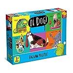 Oi 7325 Dog 35 Piece Jigsaw Puzzle, Blue