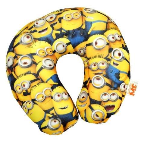 """Preisvergleich Produktbild Bequemes Reise-Nackenkissen mit einem """"Meer von Minions""""-Motiv"""