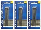 HAC24 36 Stück Nadeln für Rouladen | Rouladennadeln | Rouladenspieße | Fleischnadel