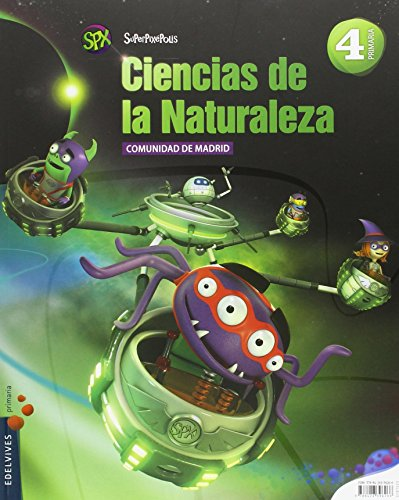 Ciencias de la Naturaleza 4º Primaria - C. de Madrid (Superpixépolis) - 9788426396266