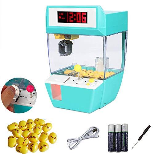 YUSDP Mini Garra electrónica, con Reloj Despertador con...
